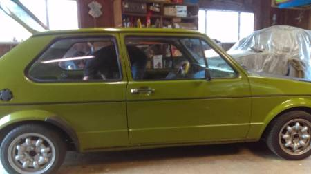1976 VW Rabbit right side