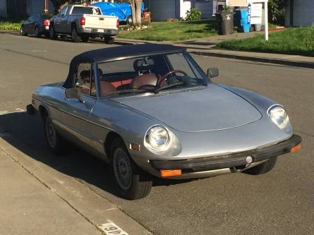 1978 Alfa Romeo Spider 2 right front