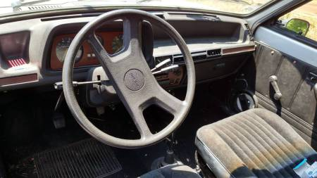 1978 Ford Fiesta interior