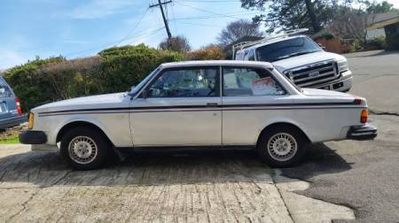 1979 Volvo 242 GT left side