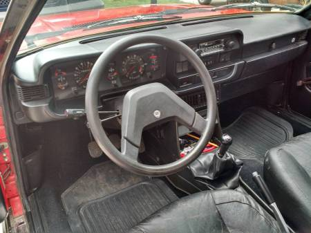 1982 Lancia Beta Zagato interior
