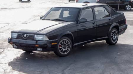 1988 Alfa Romeo Milano Verde 2 left front