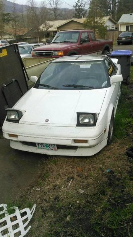 1988 Toyota MR2 SC left front