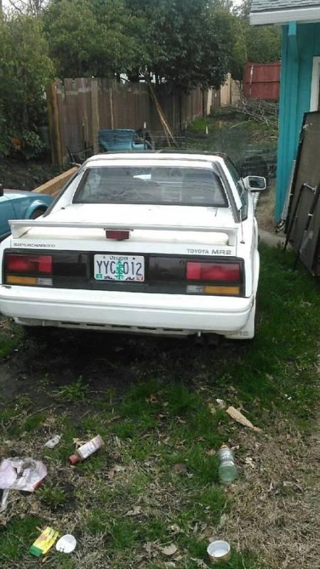1988 Toyota MR2 SC right rear