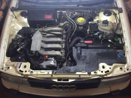 1990 Audi 90 Quattro 20v engine