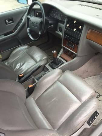 1990 Audi 90 Quattro 20v interior