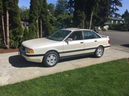 1990 Audi 90 Quattro 20v left front
