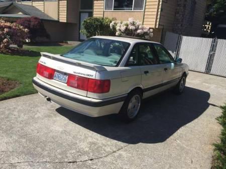 1990 Audi 90 Quattro 20v right rear