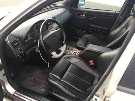 1995 Mercedes C36 AMG interior