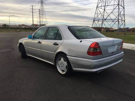 1995 Mercedes C36 AMG left rear
