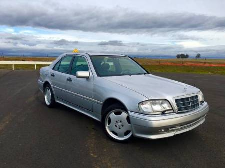 1995 Mercedes C36 AMG right front