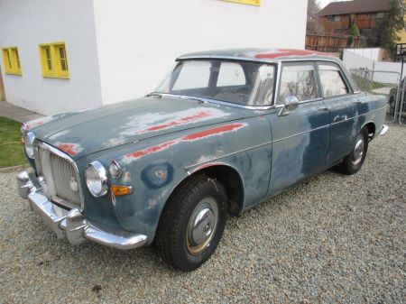 1960 Rover P5 left front