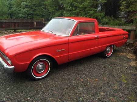 1961 Ford Ranchero left side