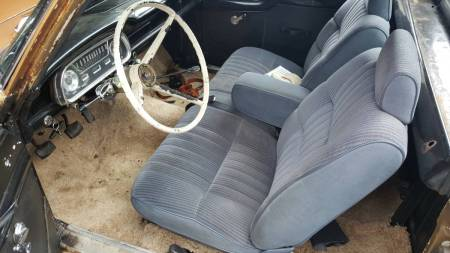 1962 Ford Ranchero interior