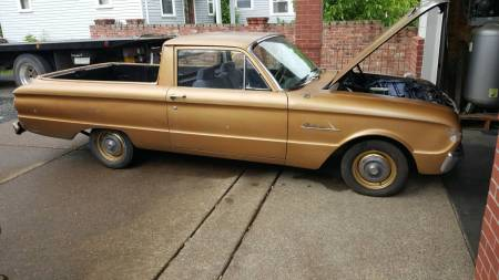 1962 Ford Ranchero right side