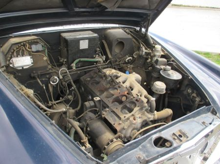 1962 Rover P5 engine