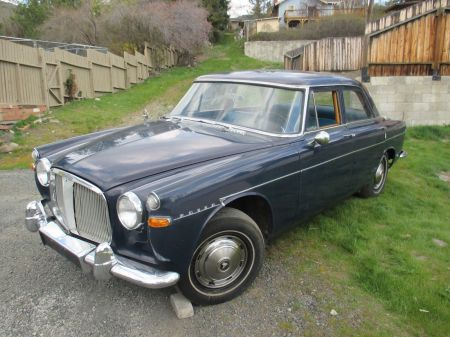 1962 Rover P5 left front