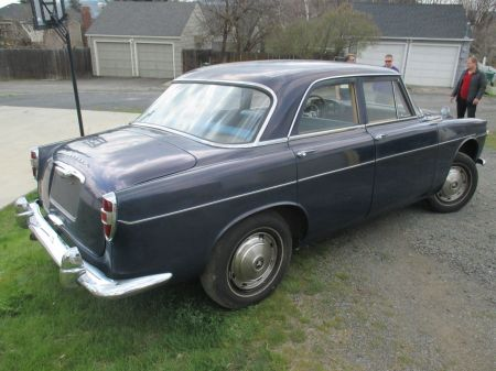 1962 Rover P5 right rear