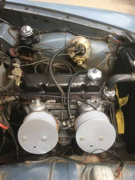 1962 Volvo 122S engine