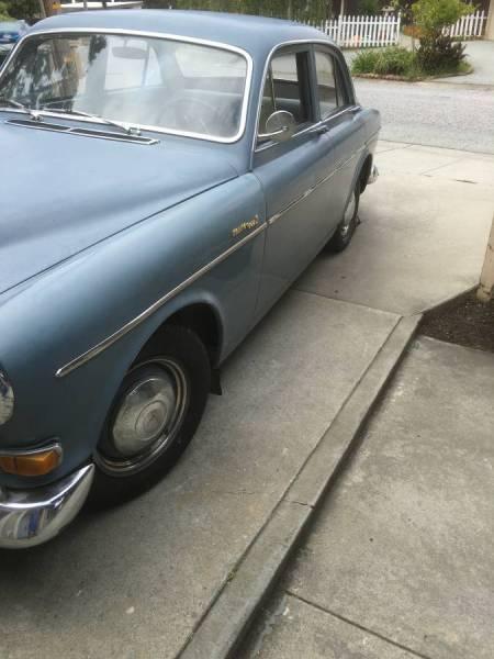 1962 Volvo 122S left front