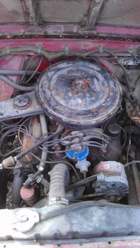 1967 Land Rover Series IIa engine