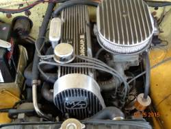 1971 Ford Pinto engine