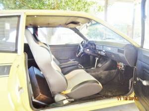 1971 Ford Pinto interior