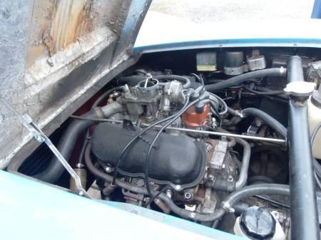 1972 Saab Sonett engine