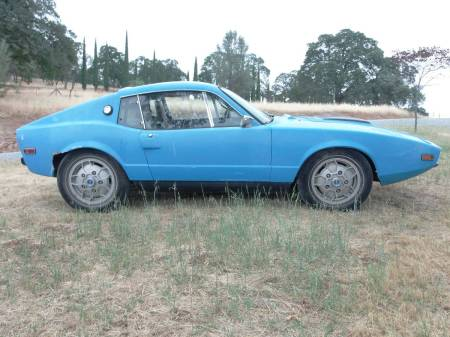 1972 Saab Sonett right side
