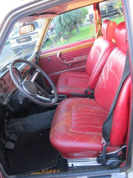 1973 BMW 3.0S interior