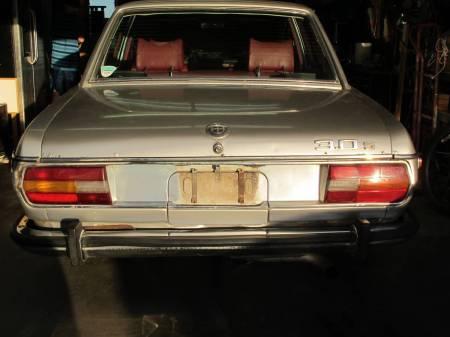 1973 BMW 3.0S rear