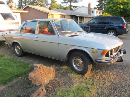 1973 BMW 3.0S right front