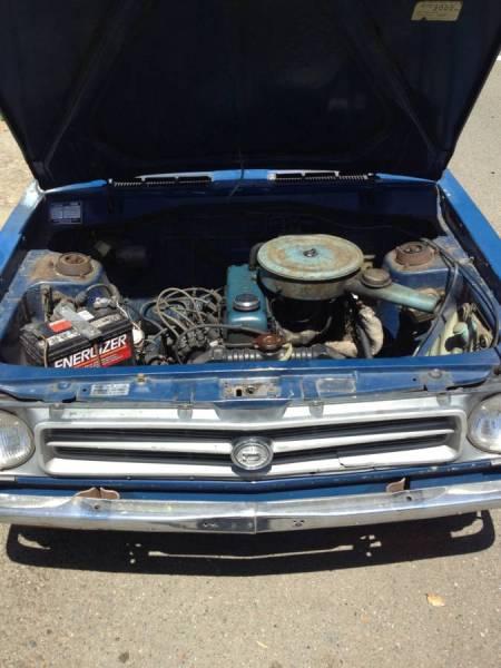 1973 Datsun 1200 engine