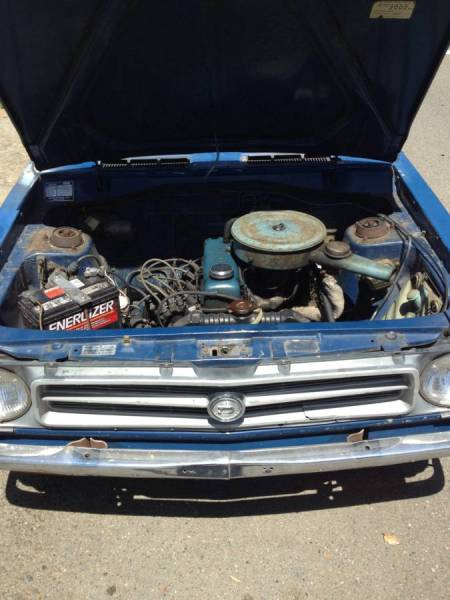 1973 Datsun 1200 engine