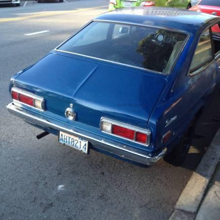 1973 Datsun 1200 right rear