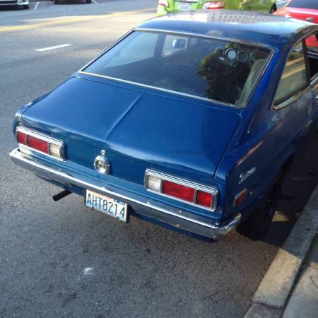 1973 Datsun 1200 right rear