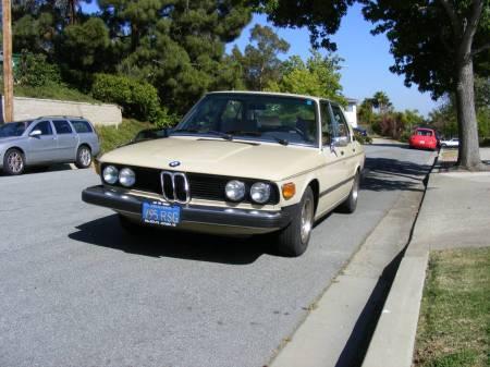 1976 BMW 530i left front