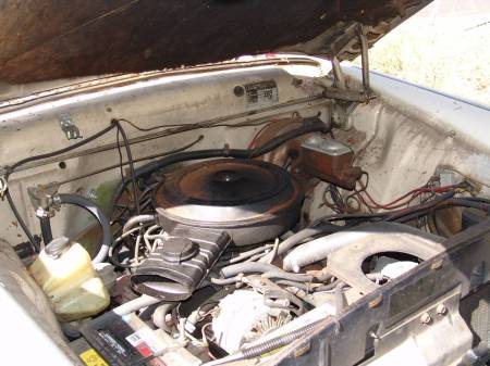1977 Checker Marathon engine