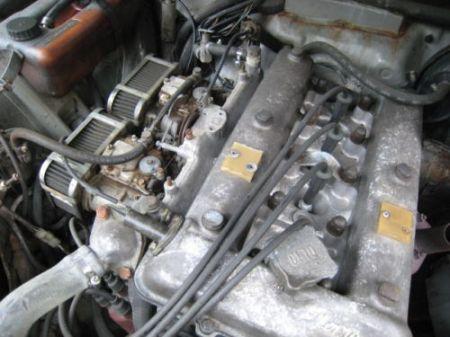 1979 Alfa Romeo Alfetta Sedan 3 engine