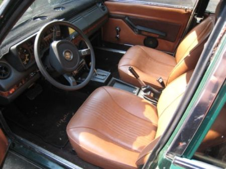 1979 Alfa Romeo Alfetta Sedan 3 interior