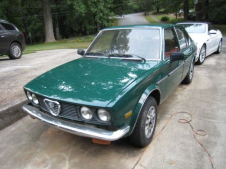 1979 Alfa Romeo Alfetta Sedan 3 left front