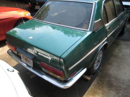 1979 Alfa Romeo Alfetta Sedan 3 right rear