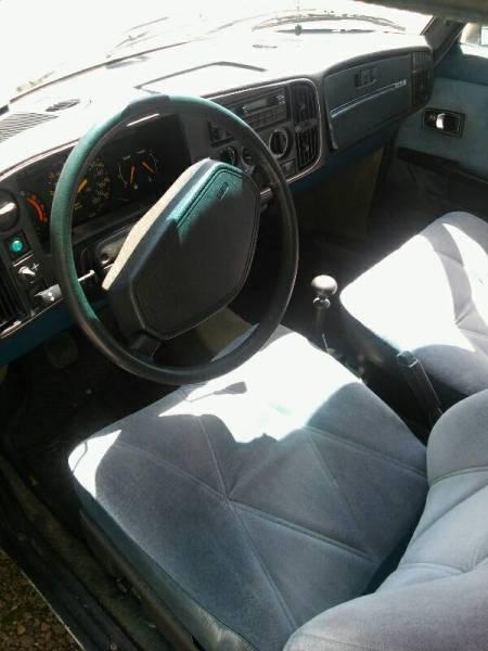 1979 Saab 900 GLE interior