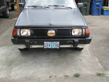 1981 Subaru GL hatchback cyclops