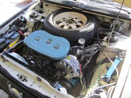 1981 Subaru GL hatchback engine
