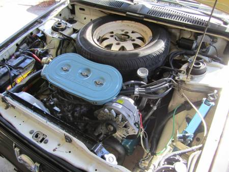 1981 Subaru GL hatchback engine