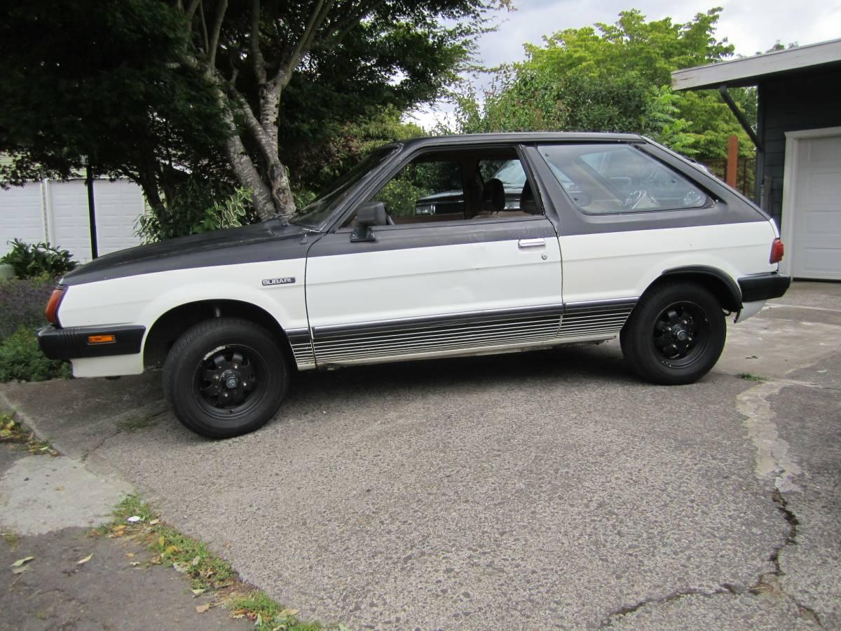 cumberford and mott s light 1981 subaru gl hatchback rusty but rh rustybuttrusty com