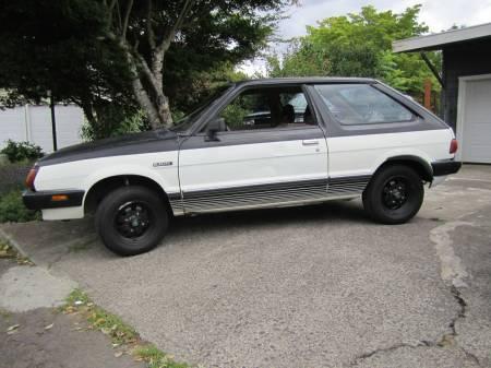 1981 Subaru GL hatchback left front