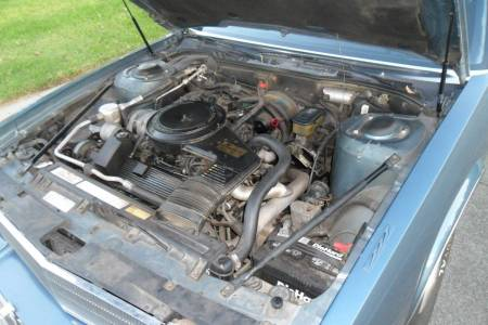1986 Cadillac Fleetwood 75 engine