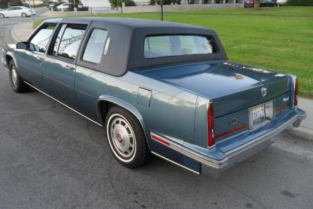 1986 Cadillac Fleetwood 75 left rear